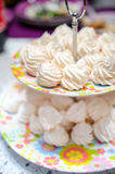 Small meringues Royalty Free Stock Photography