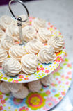 Small meringues Stock Images