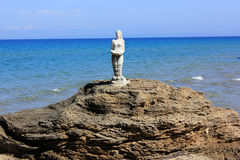 Small Mermaid... Zakynthos island, Greece Stock Photo