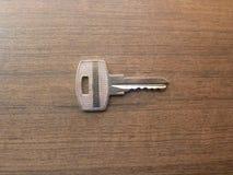Small metal door lock key royalty free stock photos