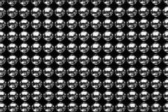 Small metal magnetic balls as background. Top view royalty free stock photography