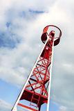 Small metal tower Stock Images