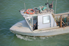 Small Metal Utility Boat Royalty Free Stock Photo