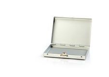 Small metallic suitcase Royalty Free Stock Photos