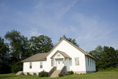 Small midwestern church Stock Image
