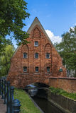 Small mill in Gdansk Stock Image