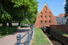 Small Mill in Gdansk Stock Photography