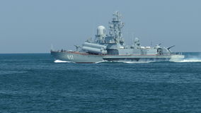 Small missile boats Russia stock video