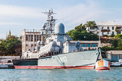 Small missile ship Royalty Free Stock Image
