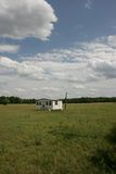 Small Mobile Home in Marion, SC. Royalty Free Stock Photo