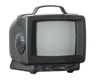Small mobile television Stock Image