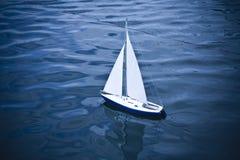Small model of sailboat Stock Photos
