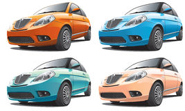 European small car Stock Images