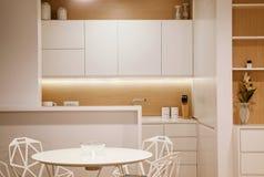 Small Modern Kitchen stock photography