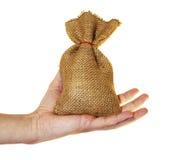 Small money bag Stock Photos