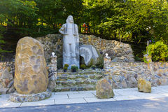 Small monument opryshky Royalty Free Stock Photos