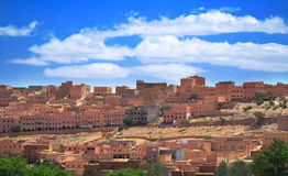 Small Moroccan town Stock Image