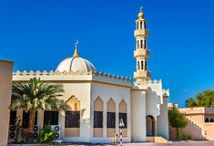 Small mosque in Abu Dhabi Royalty Free Stock Images