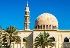 Small mosque in Abu Dhabi Stock Image