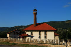 Small mosque in Bosnia and Herzegovina. Background Stock Photography