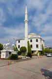 A small mosque in the coastal village Stock Photography