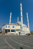 A small mosque in the coastal village Royalty Free Stock Images