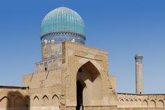 Small mosque. Mosque Bibi Khanum royalty free stock photos