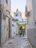 The small mosque in Tunis medina Stock Photography