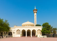 Small mosque under clean blue sky Royalty Free Stock Photos
