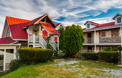 Small motel in Harper's Ferry, West Virginia. Royalty Free Stock Image
