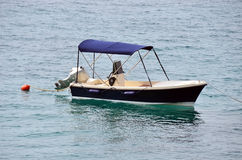 Small motor boat Royalty Free Stock Photo