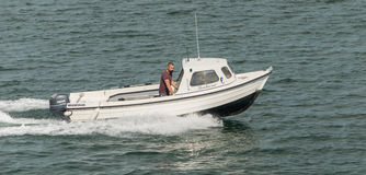 Small motor Boat Royalty Free Stock Image