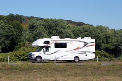 Small motor home recreational vehicle Royalty Free Stock Image