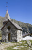 Small mountain chapel in Northern Italy Stock Images