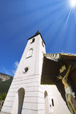 Small Mountain Church - Oberschütt Austria Royalty Free Stock Photo