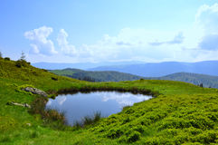 Free Small Mountain Lake Royalty Free Stock Images - 14738829