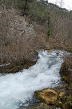 Small  mountain river Royalty Free Stock Photography