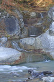 A small mountain stream Royalty Free Stock Photography