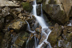 Small mountain stream Royalty Free Stock Photography