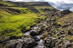 Small mountain stream Stock Photography