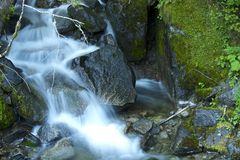 Small Mountain Stream Stock Image