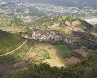 Small mountain village Stock Photo
