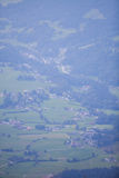 Small mountain village in the Alps Royalty Free Stock Images