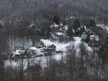 A small mountain village Stock Photography