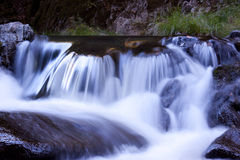 Small Mountain Waterfall Royalty Free Stock Photography