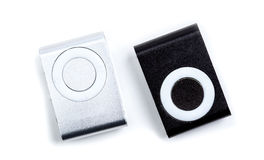 Small mp3 player isolated Royalty Free Stock Image