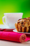 Small muffins on plate Stock Photography