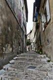Small narrow street Stock Image