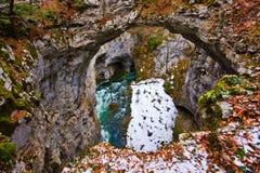Small natural bridge Royalty Free Stock Image