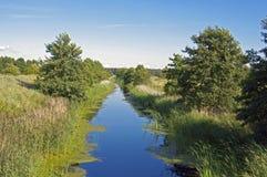 Small natural river Royalty Free Stock Photo